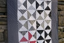 Patchwork Black and whitw