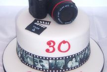 Camera Cakes with Edible Images