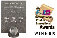 Awards  / www.roystonlabels.co.uk High quality product labels for discerning brands and designers