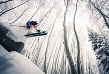Dream skiing! / Dreams, dreams,  dreams...