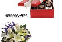 Flowers With chocolates / Beautiful Flowers With Yummy Chocolates. who Want to send something a little extra? Why not send one of these items that not only have lovely fresh flowers, but also come with a box of tasty chocolates - Great Idea!!