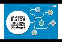 """IADB postales / Tipo de proyecto: Diseño de postales postales Diseñado por: WEBXSP Desarrollado para: IABD Inter-American Development Bank Descripción: Postales """"Did you know the IBD has a new Infrastructure Strategy?"""""""