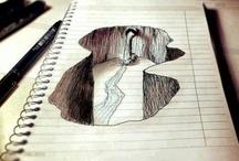 Dibujos con profundidad