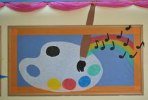 Bulletin Boards Ideas / Great Decoration ideas for your bulletin board displays using Smart-Fab.