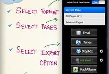 iPad  & iPhone / Dessins, pensée visuelle, mindmapping... Les applications que je préfère