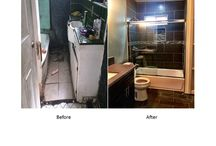 Before and After / My own version of HGTV showing dilapidated properties before and after they've been fixed up