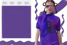 Purple Passion / A dramatically provocative and thoughtful purple shade, PANTONE 18-3838 Ultra Violet, Color of the Year 2018, communicates originality, ingenuity, and visionary thinking that points us toward the future.