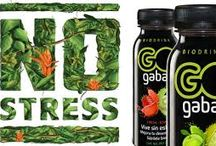 NO STRESS / GO gaba is a functional drink that gives your brain a boost and helps you living a stress-free life.