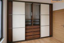 VESTAVĚNÉ SKŘÍNĚ S POSUVNÝMI DVEŘMI / Moderní vestavěné skříně s posuvnými dveřmi přímo od výrobce.
