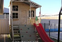Why Cubby Houses are so Awesome / Here we take a look at the huge benefits of #cubbyhouses and why they're a great investment for your kids