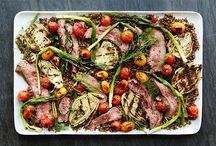 Steak Dinners / Steak cooked in all manner of ways with great salads and dressings