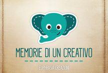 """Memorie di un Creativo #nonditeloaicreativi / Conoscete il detto """"hai la memoria di un elefante"""" ?! Nasce la nostra prima rubrica """"#memoriediuncreativo"""" !!! Ma fate attenzione #nonditeloaicreativi.... e voi? avrete sicuramente sentito altre chicche! Scriveteci !!! Amplieremo la nostra lista, ma soprattutto, condividete quelle che più avete sentito con i nostri hashtag!!!"""