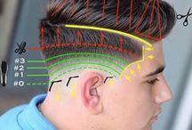 Hair design diagram