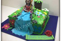 Moana cake / Moana doğumgünü pastası