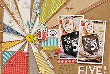 Scrapbook Stuff / by Jen Chastain-Escalante