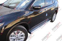Nissan X-tail (T32) 2015 & Nissan Qashqai 2015 side steps / #Nissan #Xtrail #2015 #t32 #qashqai #side #steps
