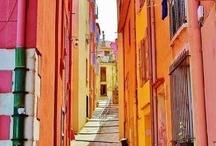 Calles, callejones y pequeños rincones