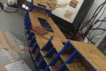 Galeão São João Batista / Modelismo naval de uma série da editora Altaya chamada Grandes Veleiros. Retrato aqui algumas fotos durante a montagem.