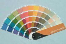 Warm Autumn color guide