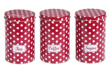 Polka Dot Kitchen Accessories