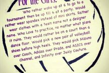 The Girl Loves Volleyballl / by Meredith Eisele