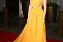 Celebrity Formals - Colors - Yellow, Orange