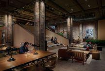 Coworking / Coworking paja interior furniture