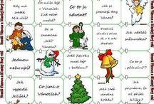Vánoční pracovní listy