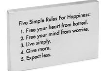 Words to live by... / by Sandra Robles