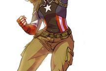 Chris Evans/Steve Rogers aka Captain America