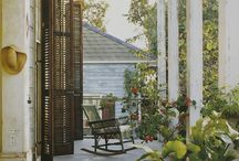 Porches and Decks / Places to relax in peace...or overlook the excitement of a city sidewalk / by Allen Duhe'