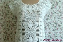 crochet filet clothes
