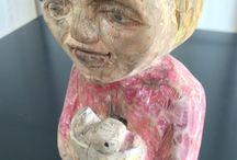 rzeźba w drewnie / woodcarving