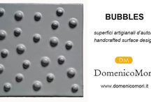 Domenico Mori handcrafted surface design. Made in Italy.