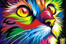 Sztuka z kotami