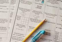 7th grade Math / by Amber Guzman