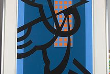 Sam Vanni / Silk screen prints to try and buy.