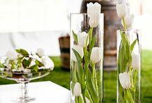 vasi fiori candele