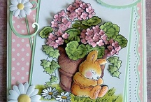 .Cards-Easter: Bunnies / by Chatterbox Creations (Carlene Prichard)