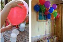balões a gás