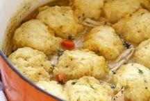 Dumplings / soup
