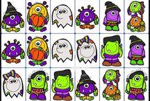 Halloween / Spiele und Ideen zum Thema