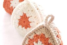 Crochet trinkets and toy