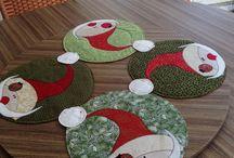 Centrinho de mesa tecido