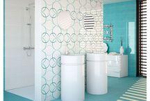 Carrelage salle de bain / Vous cherchez des idées déco pour votre salle de bain? Ne cherchez plus pour votre carrelage inspirez-vous d'Atlantique Web Carrelage : vente de carrelage en ligne.