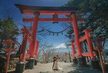 国内ロケーションフォト(前撮り&後撮り)| Pre-wedding in Japan / ウエディングの前撮りや後撮りを特集しています。