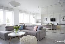 white interior / projektowanie wnętrz warszawa