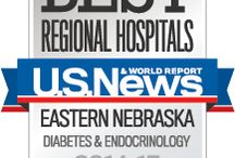 Diabetes Center / Specialists with the Nebraska Medicine Diabetes Center offer tips, videos, blogs and recipes for patients diagnosed with diabetes.  / by Nebraska Medicine
