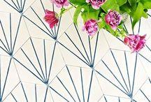Tile Love / tile colors and shapes I love / by Lauren Warner