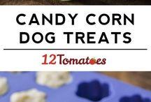 Homemade dog treat